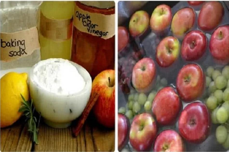 7 cách đơn giản để rửa sạch hóa chất trên hoa quả-1