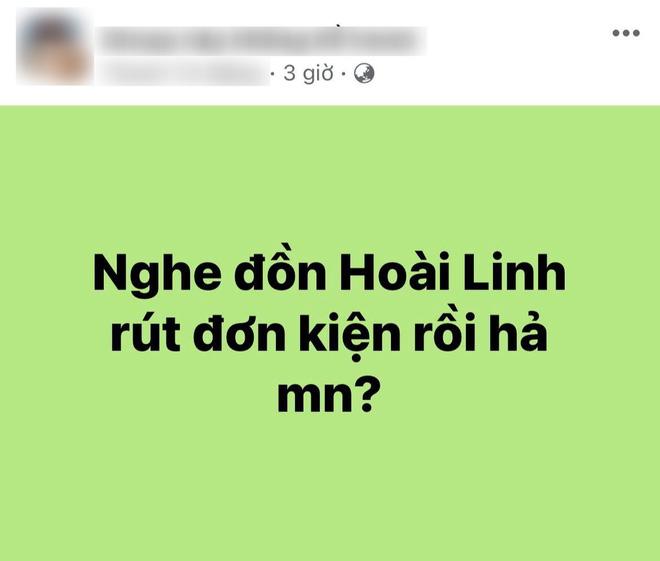 NS Hoài Linh bị đồn rút đơn kiện CEO Đại Nam, Vũ Hà chỉ nói 2 chữ làm sáng tỏ tất cả?-2