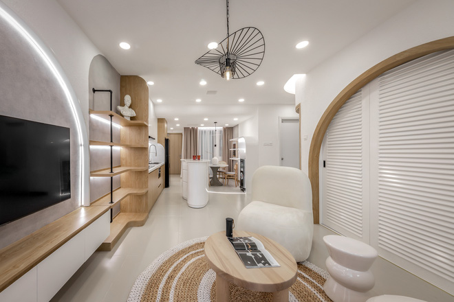 Bỏ 900 triệu thiết kế căn hộ, 8x xứng đáng nhận điểm 10 vì góc nào cũng đẹp như showroom-6
