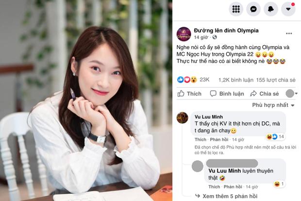 Xuất hiện comment của phó phòng tại VTV trên fanpage Đường Lên Đỉnh Olympia, nói gì mà bị netizen bảo luyên thuyên?-1