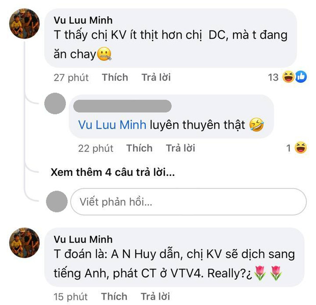 Xuất hiện comment của phó phòng tại VTV trên fanpage Đường Lên Đỉnh Olympia, nói gì mà bị netizen bảo luyên thuyên?-2