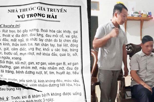Thầy lang chữa hiếm muộn bằng cách quan hệ ở Bắc Giang: Cô đó mấy lần khóc lóc đặt vấn đề xin con tôi mới cho-1