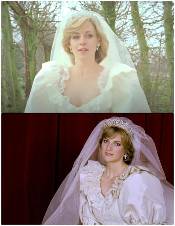 Váy cưới của Công nương Diana bản 2021 giống thiết kế gốc tới 99%, nhưng liệu có gặp phải 4 sự cố này trong lễ cưới-5