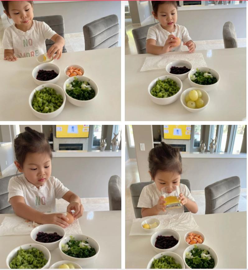 Con gái Thanh Thảo ăn bữa sáng siêu đơn giản nhưng khẩu phần ăn khiến ai cũng giật mình-1