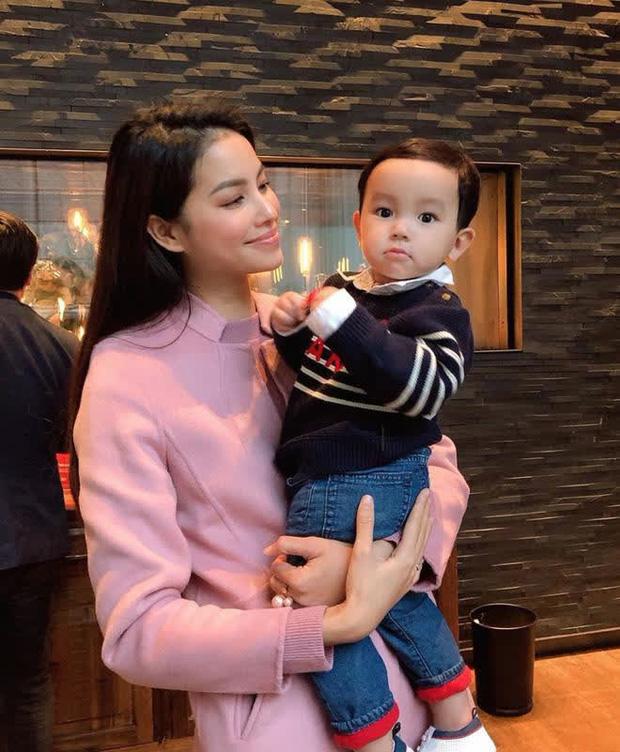 Lâu lắm mới được nghe lại giọng Phạm Hương, quý tử mới sinh nói chuyện với mẹ bỉm nhìn cưng xỉu-5
