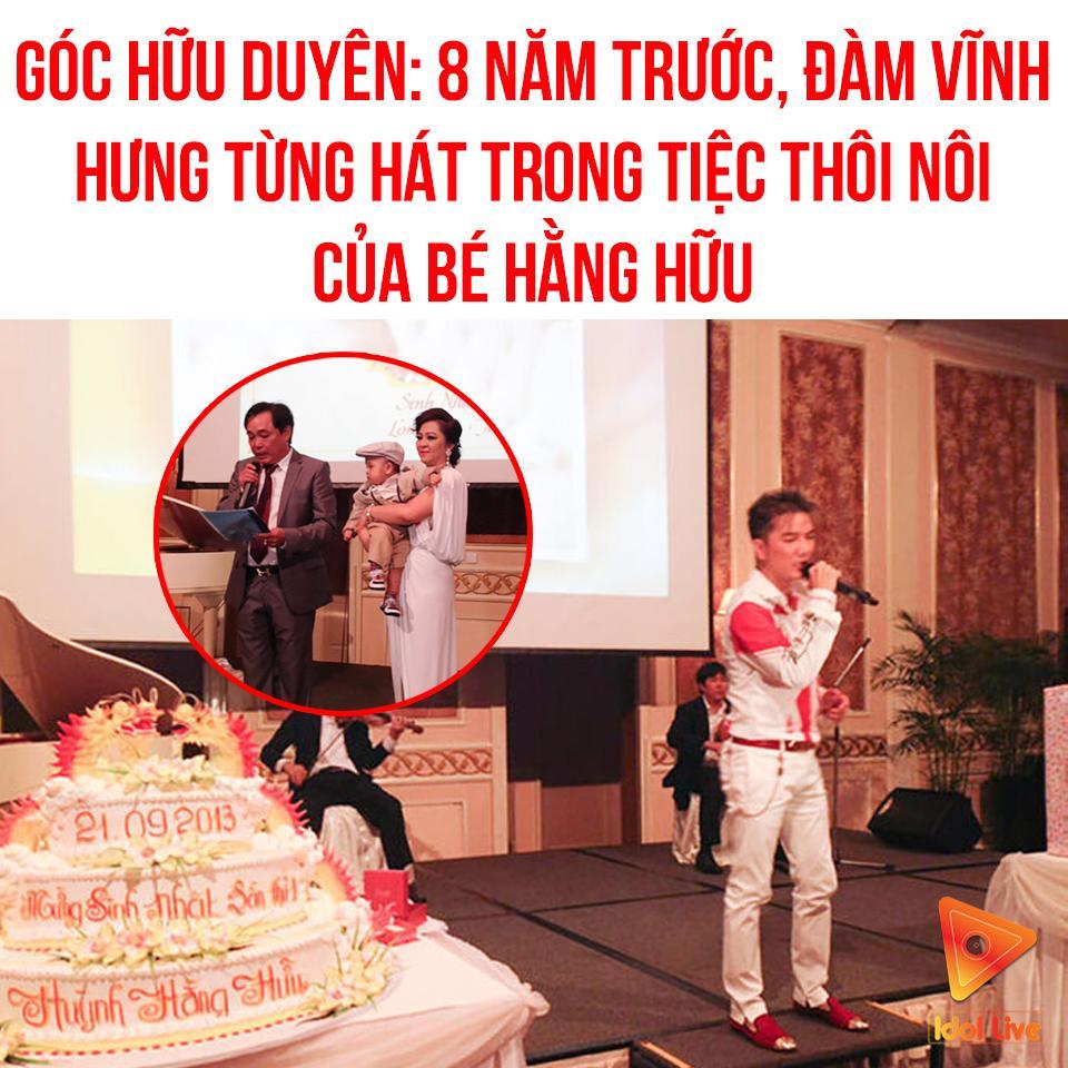 Đàm Vĩnh Hưng mặc style Fuho hát trong tiệc bà Phương Hằng-1