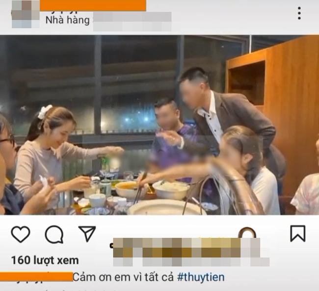 Xôn xao clip Thủy Tiên đi ăn uống sang chảnh trong lúc làm từ thiện miền Trung-1