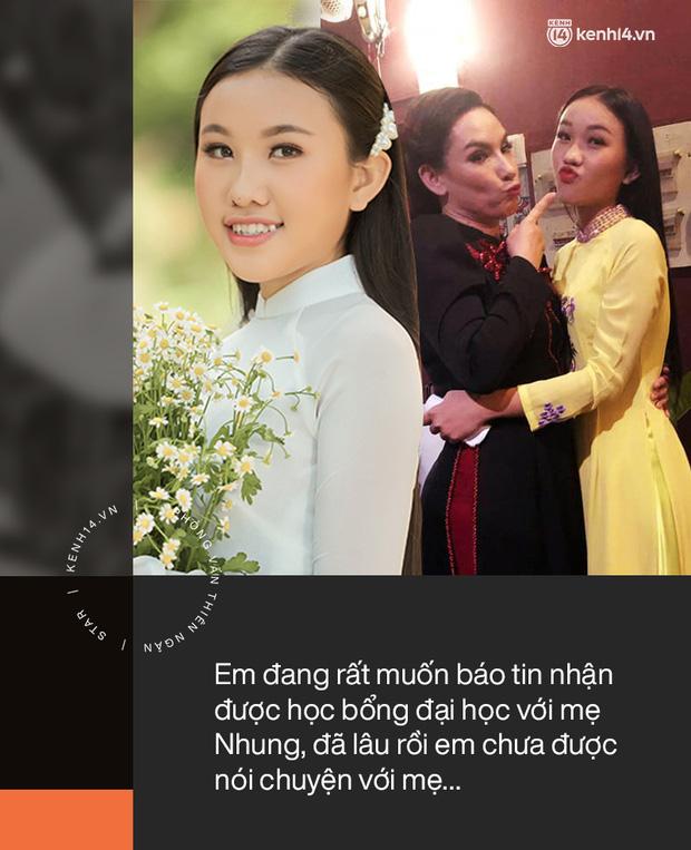 Phỏng vấn con gái Phi Nhung: Em có học bổng nhưng không thể khoe với mẹ, thấy mẹ đau đớn mà bất lực, xót xa-4