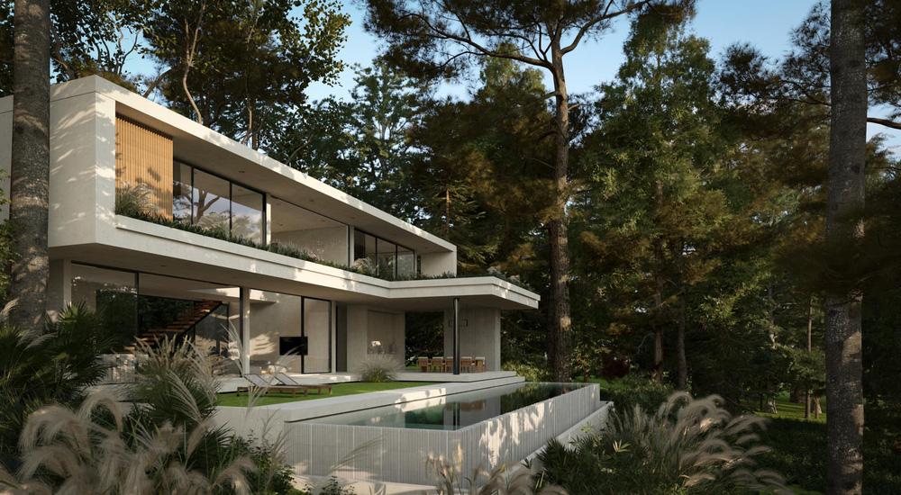 Phạm Băng Băng Việt Nam lấy đại gia Thái siêu giàu, khoe cận cảnh villa 230 tỷ nằm giữa rừng-2