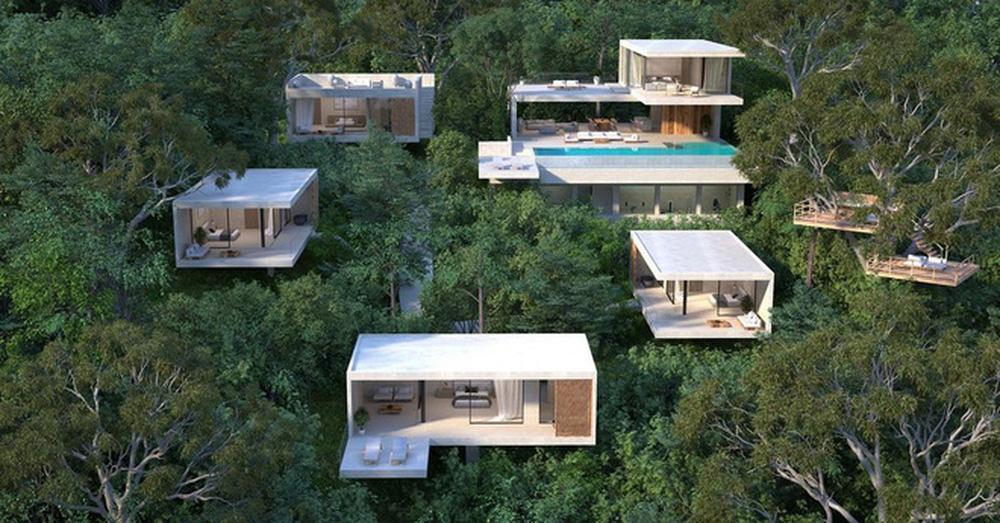Phạm Băng Băng Việt Nam lấy đại gia Thái siêu giàu, khoe cận cảnh villa 230 tỷ nằm giữa rừng-5