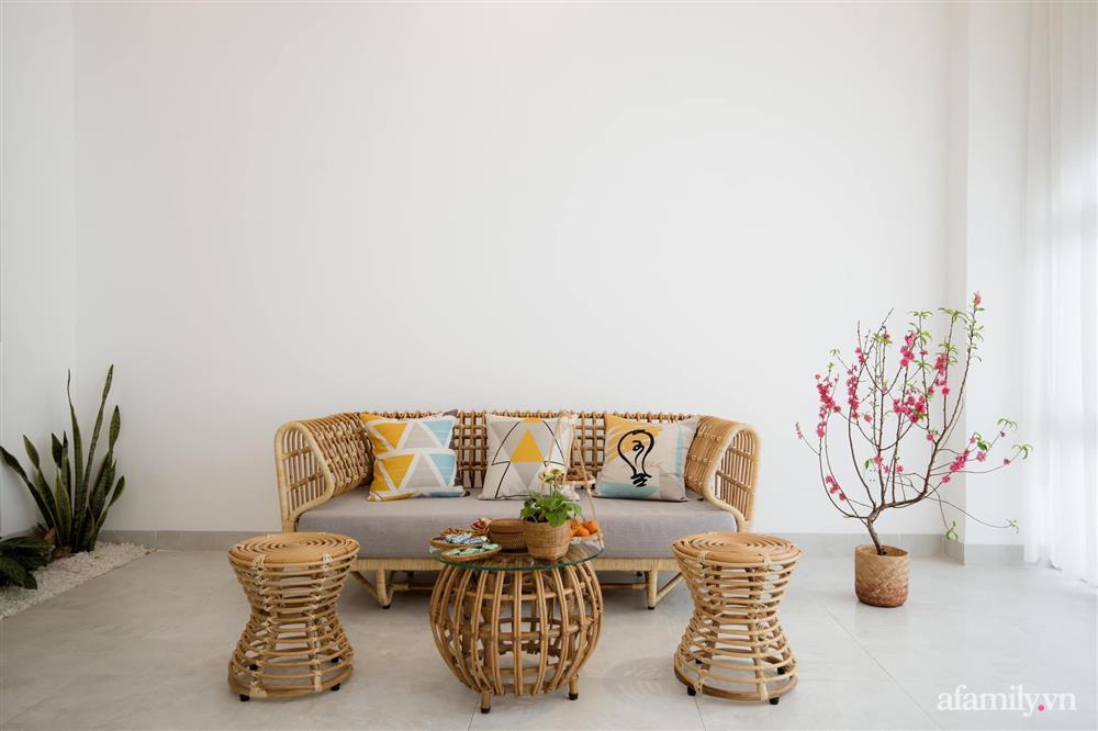 Căn nhà phố màu trắng gọn xinh ấm cúng của cặp vợ chồng trẻ Đà Nẵng có chi phí hoàn thiện 1,4 tỷ đồng-5