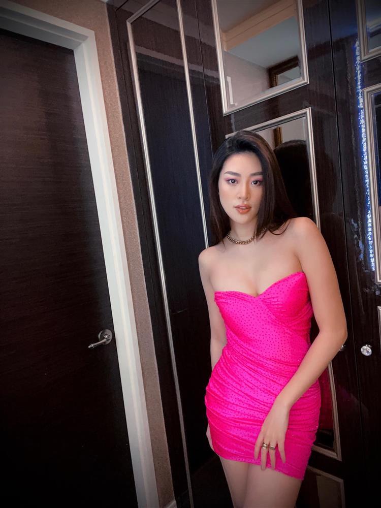 Bộ đầm quả thanh long của Khánh Vân tại Miss Universe: Từng nuốt chửng vòng 1, nay lại được phù phép sexy tột cùng-8