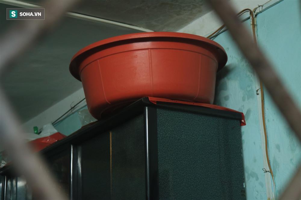 Cận cảnh 4 khu tập thể cấp độ nguy hiểm tại Hà Nội: Lấy chậu hứng nước mưa, đi vệ sinh phải đội nón-10
