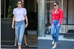Kiểu quần jeans yêu thích của Victoria Beckham lại khiến cô bị dìm chân 'ngắn một mẩu', chị em thấy thì đừng mua