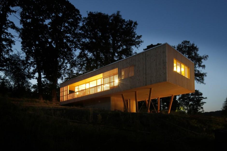 Những ngôi nhà gỗ đẹp mắt và thân thiện với môi trường cho bạn không gian sống cân bằng, bình yên-33