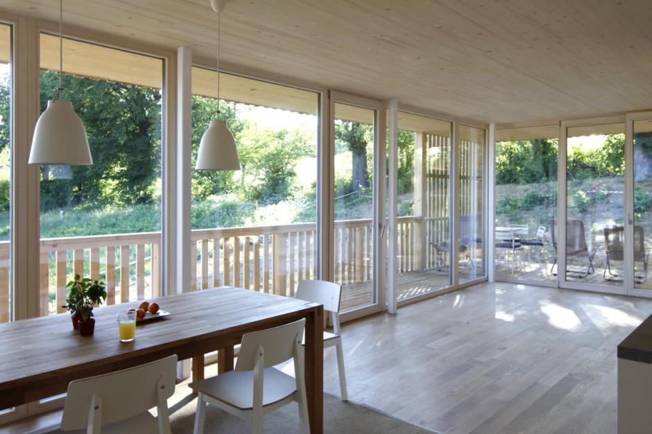 Những ngôi nhà gỗ đẹp mắt và thân thiện với môi trường cho bạn không gian sống cân bằng, bình yên-34