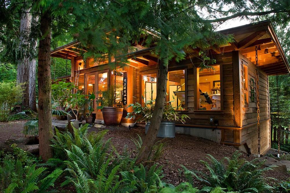 Những ngôi nhà gỗ đẹp mắt và thân thiện với môi trường cho bạn không gian sống cân bằng, bình yên-30