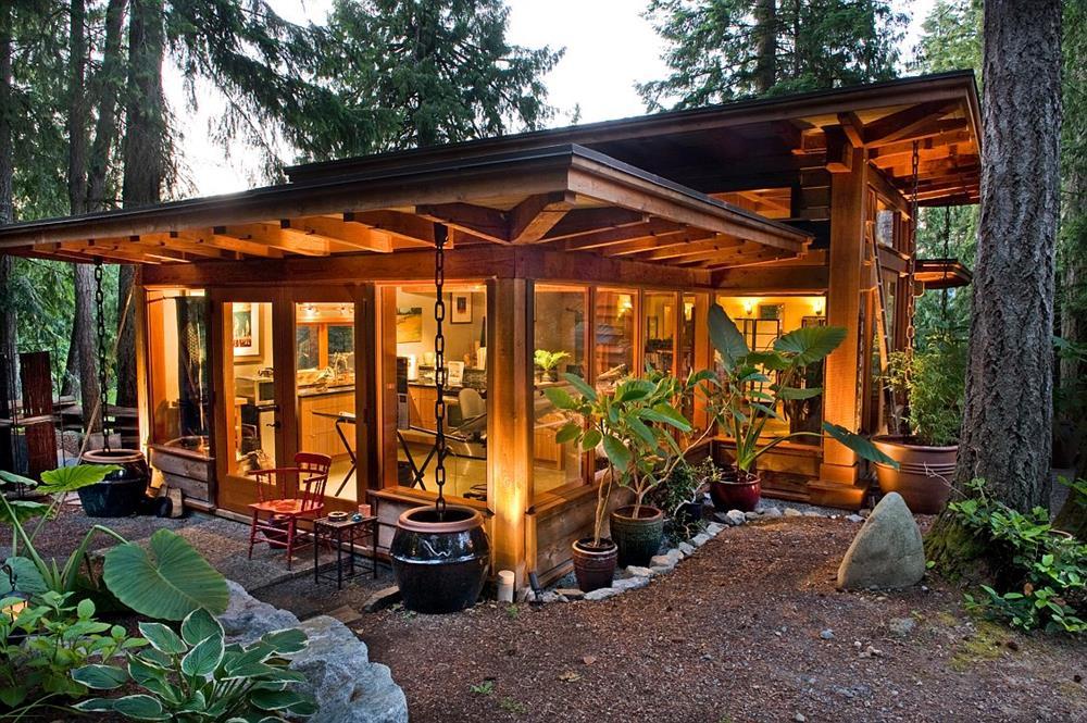 Những ngôi nhà gỗ đẹp mắt và thân thiện với môi trường cho bạn không gian sống cân bằng, bình yên-31