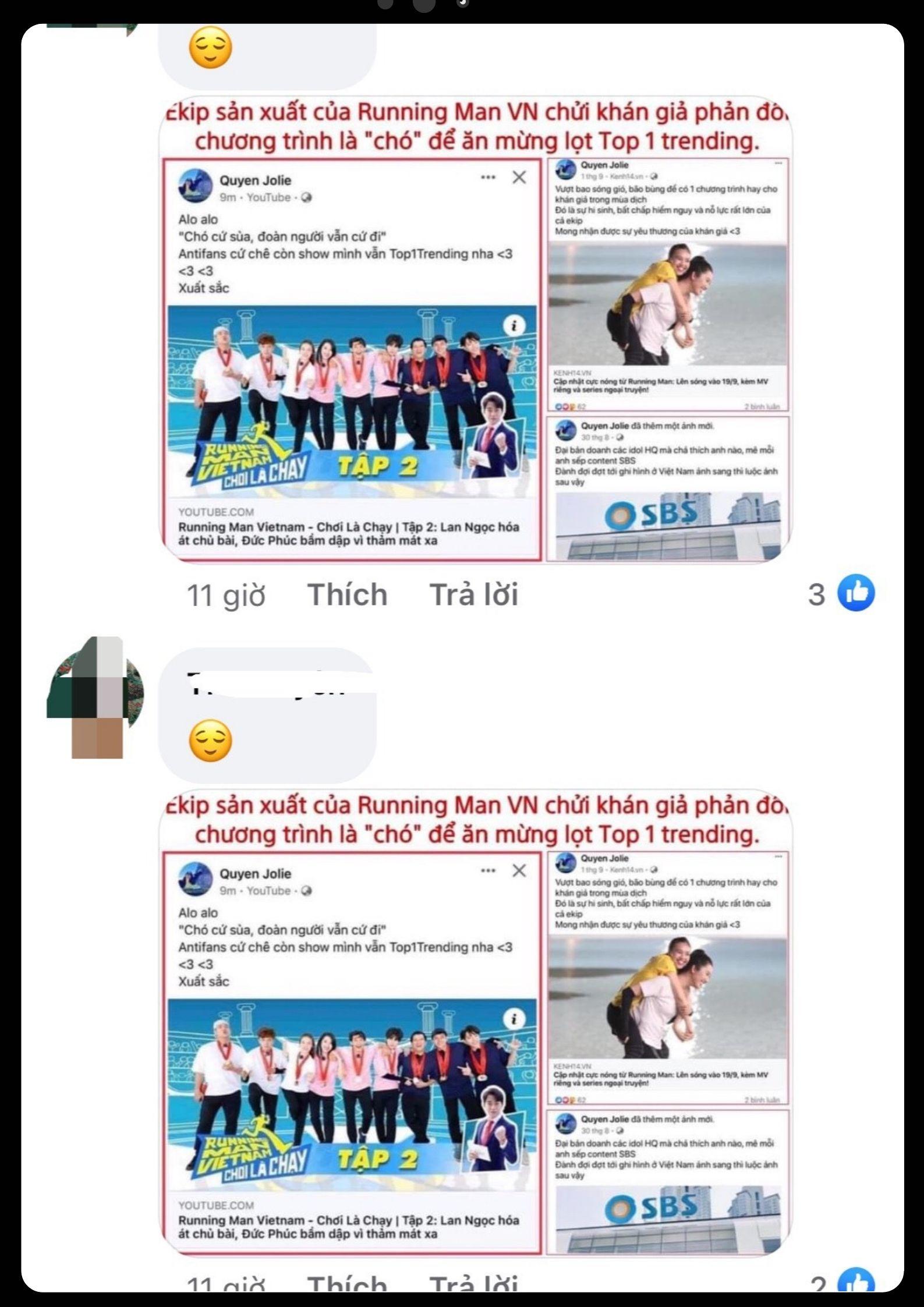 """Dân mạng đồng loạt vote 1 sao cho page của công ty sản xuất Running Man tại Việt Nam sau khi bị cho là có phát ngôn chửi khán giả là chó""""-2"""