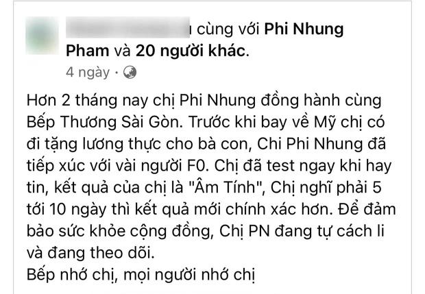 Chia sẻ cuối cùng của Phi Nhung trước khi qua đời: Xin lỗi khán giả, nói về lý do nhiễm Covid-19-2