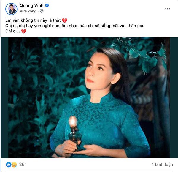 Sao Việt bàng hoàng trước tin Phi Nhung qua đời-1