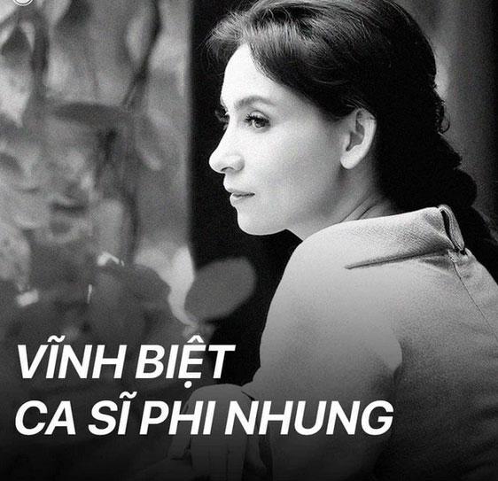 Vĩnh biệt ca sĩ Phi Nhung!-1