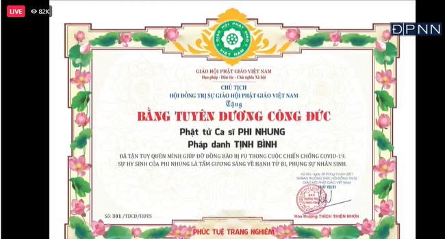 Nghẹn ngào khoảnh khắc con gái nuôi của Phi Nhung thay mẹ nhận điều này trong lễ cầu siêu, sư thầy còn chia sẻ lý do nữ ca sĩ vì sao chưa tiêm vắc xin-4