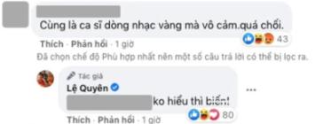 Lệ Quyên xin lỗi vì đáp trả không hiểu thì biến khi bị mỉa mai vô cảm với sự ra đi của Phi Nhung-2