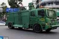 Xe đặc chủng tuần tra trên đường phố TP.HCM