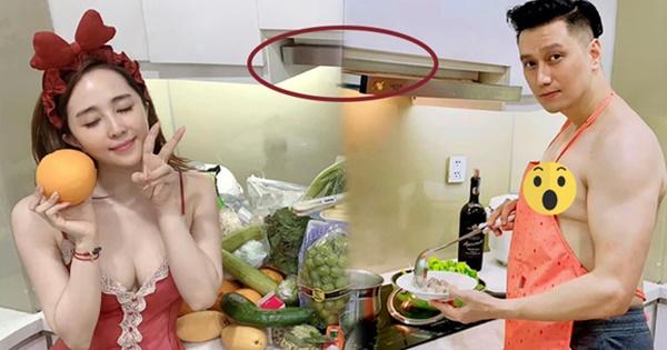 Sao Vbiz bị soi đang sống chung nhà: Hoàng Thùy Linh - Gil Lê lọt cả rổ hint, Việt Anh lộ vì ảnh nóng trong nhà bếp?-2
