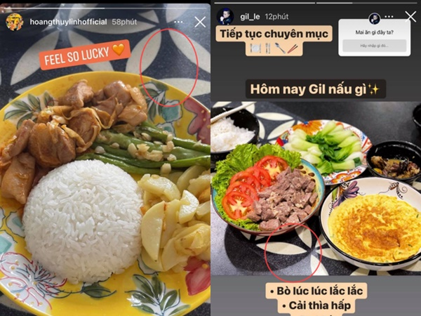 Sao Vbiz bị soi đang sống chung nhà: Hoàng Thùy Linh - Gil Lê lọt cả rổ hint, Việt Anh lộ vì ảnh nóng trong nhà bếp?-4