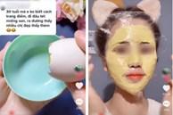 Xuất hiện trào lưu đắp mặt nạ trứng gà sữa tươi trên mạng xã hội Tiktok, chuyên gia đưa ra khuyến cáo