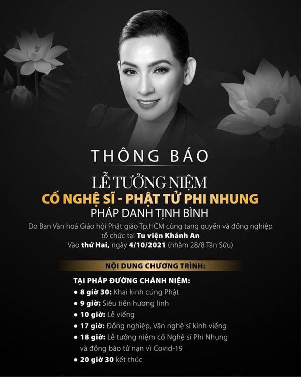 Khánh Đơn cùng vợ đến viếng ca sĩ Phi Nhung, Trường Giang - Nhã Phương, Tóc Tiên cùng dàn sao Vbiz gửi hoa chia buồn-10