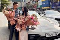 Nghi vấn siêu xe Porsche liên quan đường dây đánh bạc 'khủng' ở Hà Nội là quà cưới được một hot girl khoe lên mạng tháng 4/2021