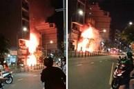 Cận cảnh hiện trường căn nhà 2 tầng bốc cháy dữ dội, 5 người thương vong sau tiếng nổ lớn