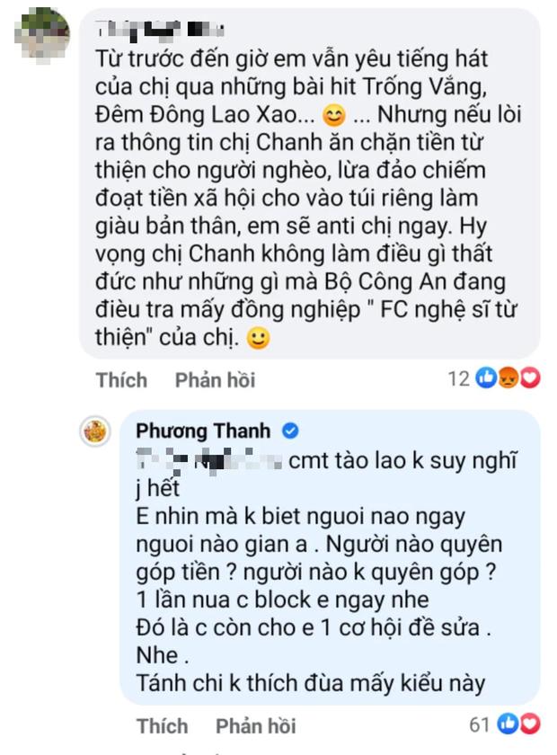 Phương Thanh tức giận, khẳng định sẽ làm điều này khi bị netizen hoài nghi ăn chặn từ thiện?-1