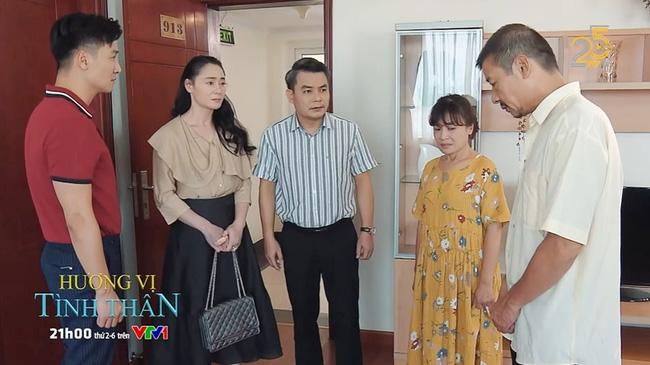Hương vị tình thân tập 50: Bà Xuân tái mặt khi nhận ra ông Sinh, bố Nam nhận hết lỗi về mình trước thông gia-1