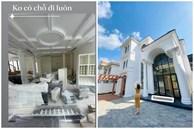 Lệ Quyên háo hức khi biệt thự ở Sài Gòn sắp hoàn thiện, nội thất chất ngập nhà