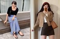 5 công thức diện chân váy mùa thu đang phủ sóng 'ác liệt' khắp street style