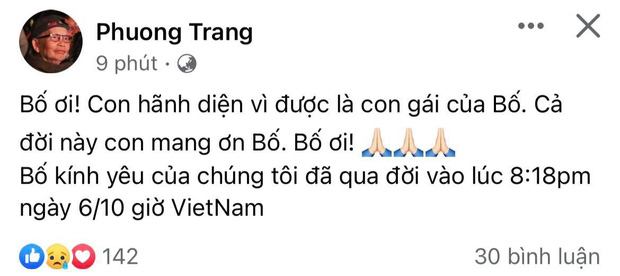 Tin buồn: Bố nghệ sĩ Hoài Linh qua đời-1