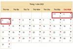 Đề xuất phương án nghỉ Tết Nguyên đán 2022 kéo dài trong 9 ngày-2