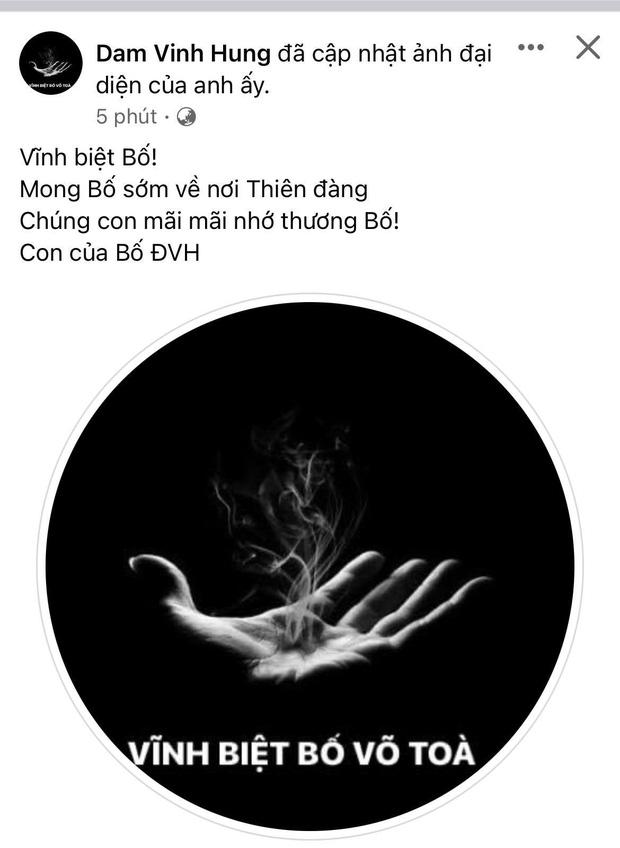 Bố nghệ sĩ Hoài Linh qua đời, Dương Triệu Vũ, Đàm Vĩnh Hưng và các sao Việt nghẹn ngào tiễn biệt-4