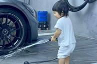 Rich kid Suchin nhà Cường Đô La mới hơn 1 tuổi nhưng đã biết kiếm tiền bằng cách này đây