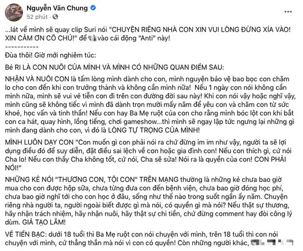 NS Nguyễn Văn Chung bị tố quỵt 70 triệu tiền thưởng và cát-xê của con gái nuôi, chính chủ bức xúc lên tiếng-2