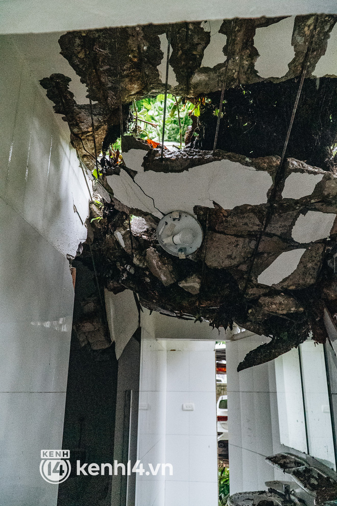 Hà Nội: Bão số 7 gây mưa lớn cả ngày, nhiều cây xanh bật gốc, đè bẹp xế hộp Camry-5
