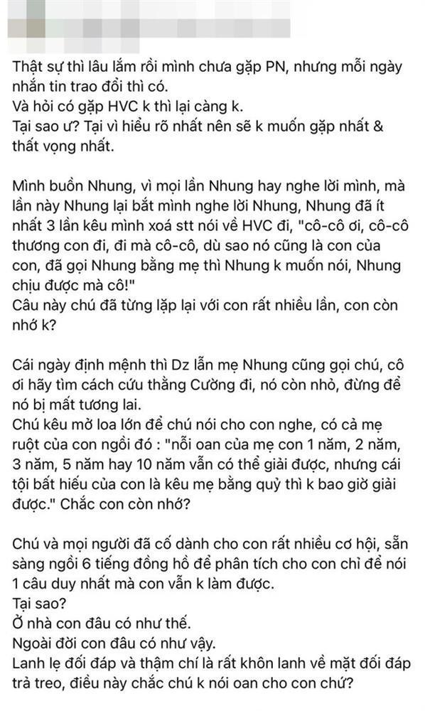 Hồ Văn Cường tiếp tục bị phía Phi Nhung tố khôn lanh, trả treo, toan tính, hoàn toàn khác xa vẻ rụt rè trước công chúng-2
