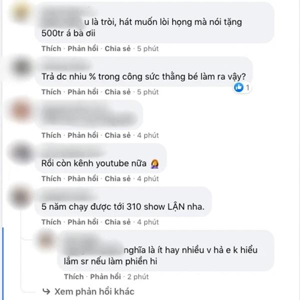 Xôn xao danh sách Hồ Văn Cường hát 310 show trong 5 năm, netizen nói điều gì liên quan số tiền 500 triệu?-4