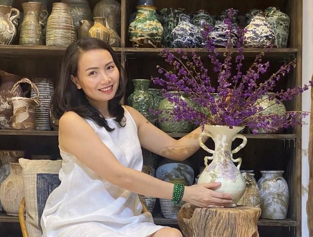 120k/set hoa Tử Châu, chị em nô nức rinh về cắm tím sắc nhà, đốn tim cư dân mạng khiến ai nấy đều nức nở khen-1
