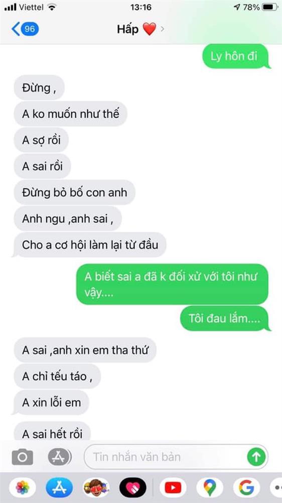 Người thứ ba ngã ngửa khi xem tin nhắn bồ chat với vợ ở nhà-1