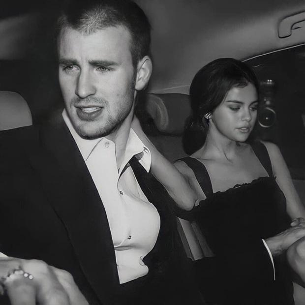 Cả MXH náo loạn vì Selena Gomez và Chris Evans lộ hình nét căng mùi mẫn trong xe không khác gì tình nhân?-1